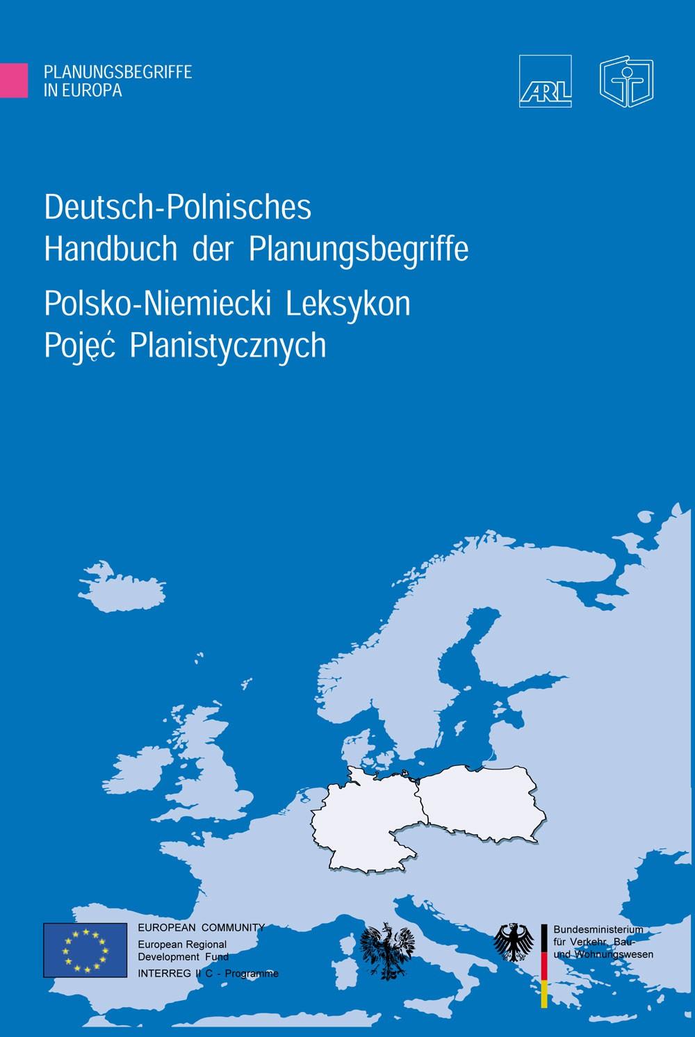 Deutsch-Polnisches Handbuch der Planungsbegriffe - Akademie für Raumforschung und Landesplanung (ARL)