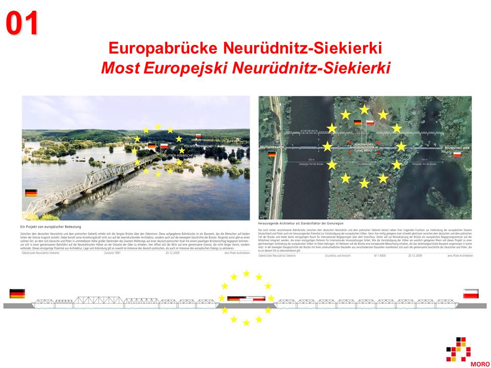 Europabrücke / Most Europejski Neurüdnitz-Siekierki 1