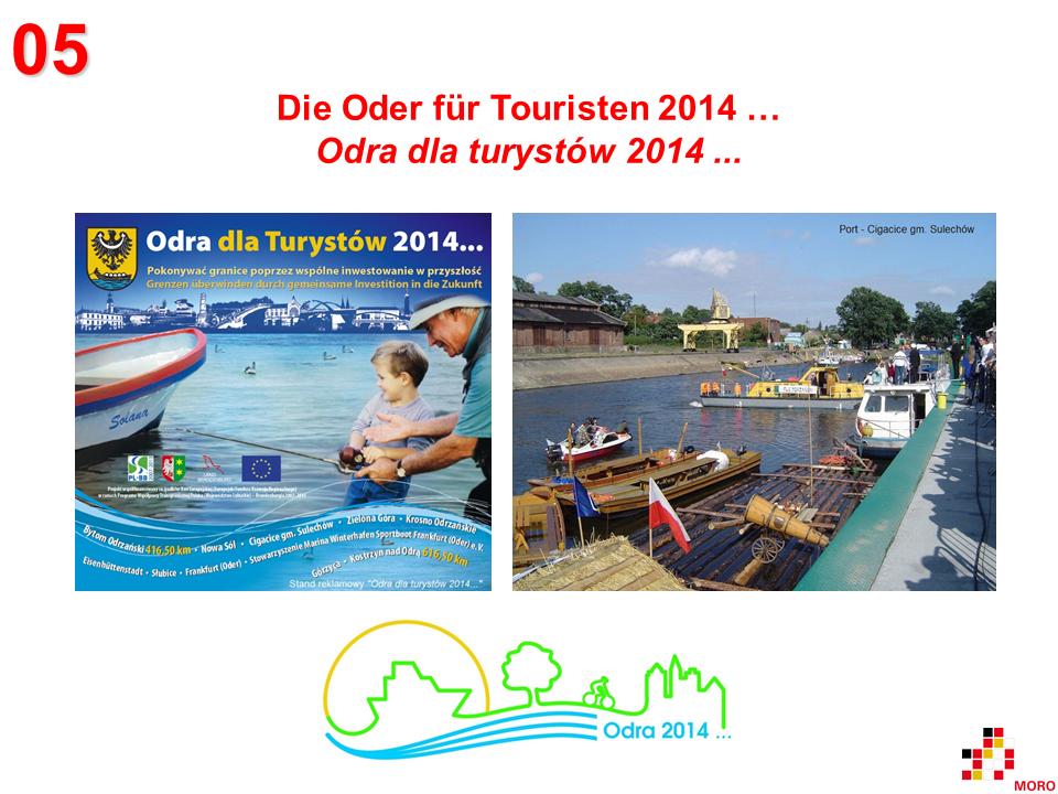 Oder für Touristen 2014 / Odra dla turystów 2014
