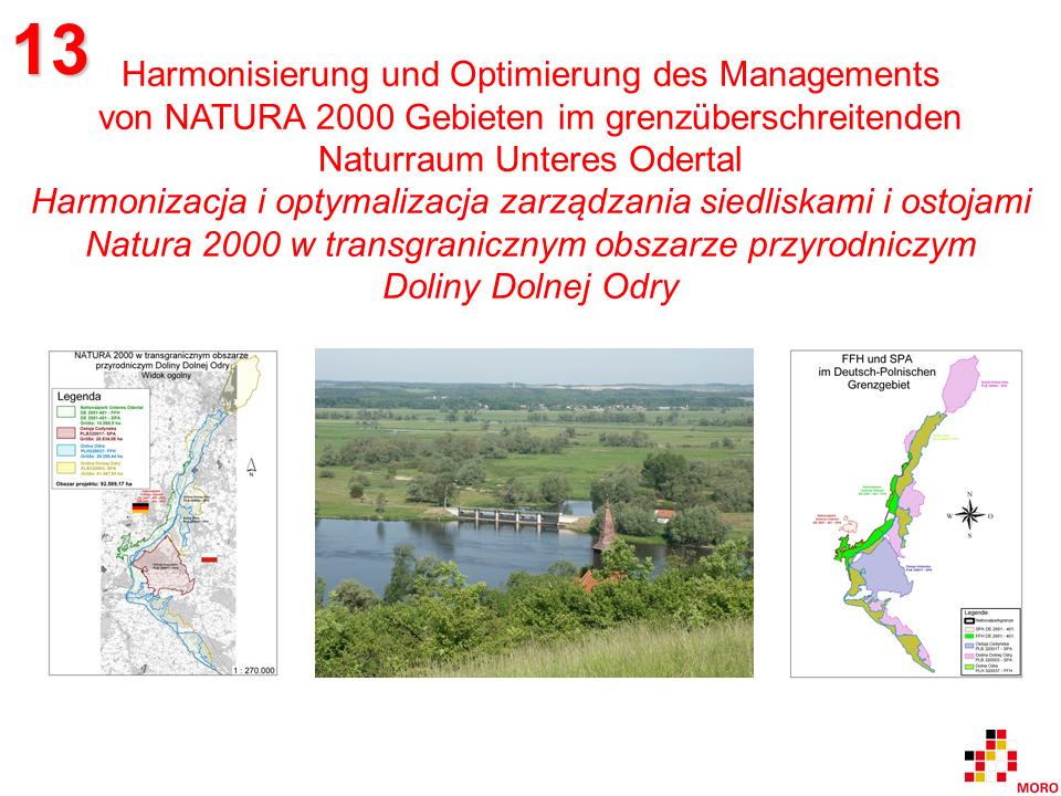 NATURA 2000 im Unteren Odertal / w Dolinie Dolnej Odry