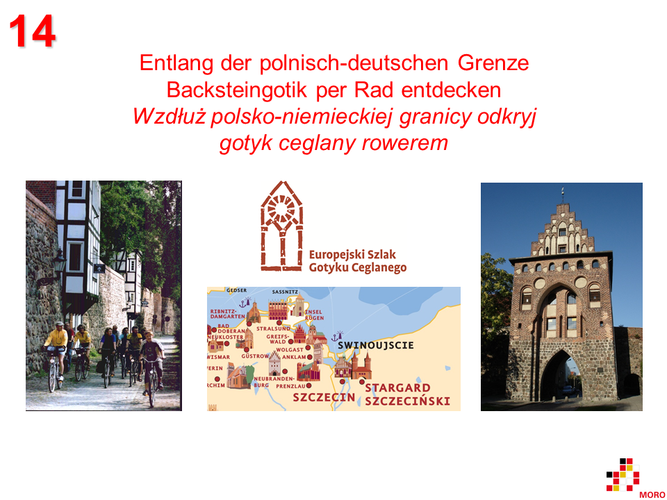 Backsteingotik per Rad / Gotyk ceglany rowerem