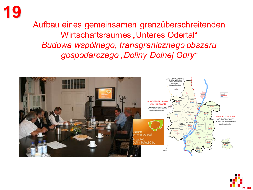 """Grenzüberschreitender Aktionsplan """"Unteres Odertal"""" / Transgraniczny Plan Działania """"Dolina Dolnej Odry"""""""