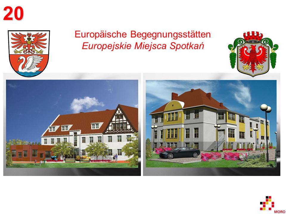 Europäische Begegnungsstätten / Europejskie Miejsca Spotkań