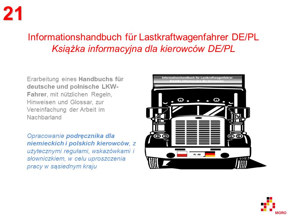 Informationshandbuch für LKW-Fahrer / Książka informacyjna dla kierowców