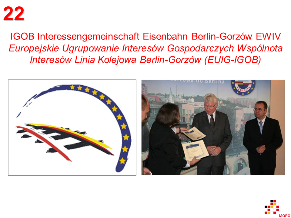 Interessengemeinschaft Eisenbahn / Wspólnota Interesów Linia Kolejowa Berlin-Gorzów