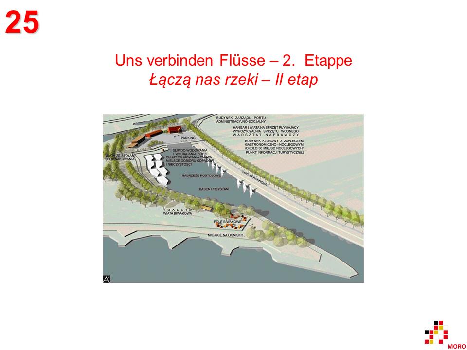 Uns verbinden Flüsse - 2. Etappe / Łączą nas rzeki – II etap
