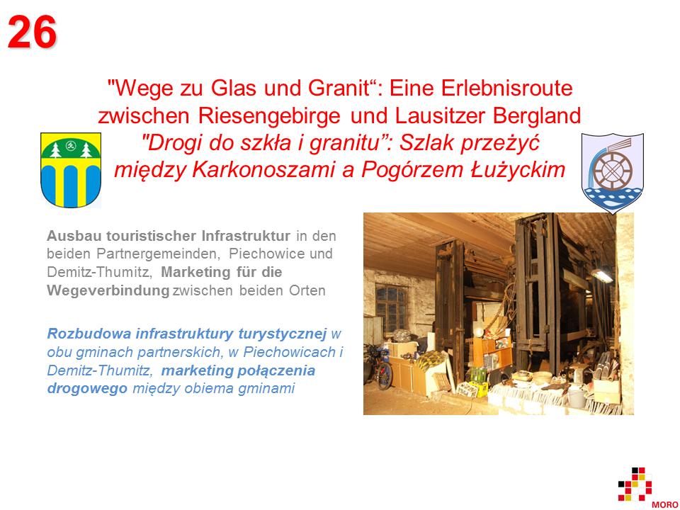 Wege zu Glas und Granit / Drogi do szkła i granitu 2