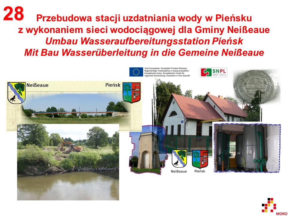 Umbau Wasseraufbereitungsstation Pieńsk / Przebudowa stacji uzdatniania wody w Pieńsku