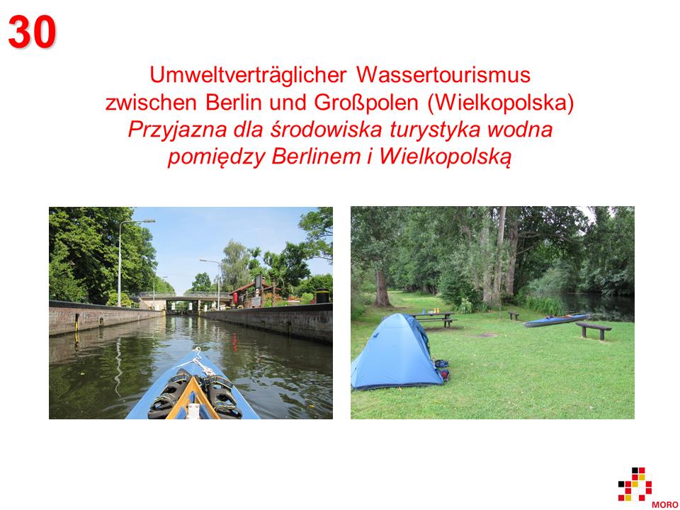 Wassertourismus / Turystyka wodna Berlin - Wielkopolska