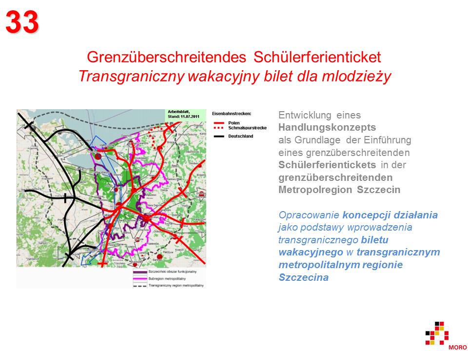 Grenzüberschreitendes Schülerferienticket / Transgraniczny wakacyjny bilet dla mlodzieży 1