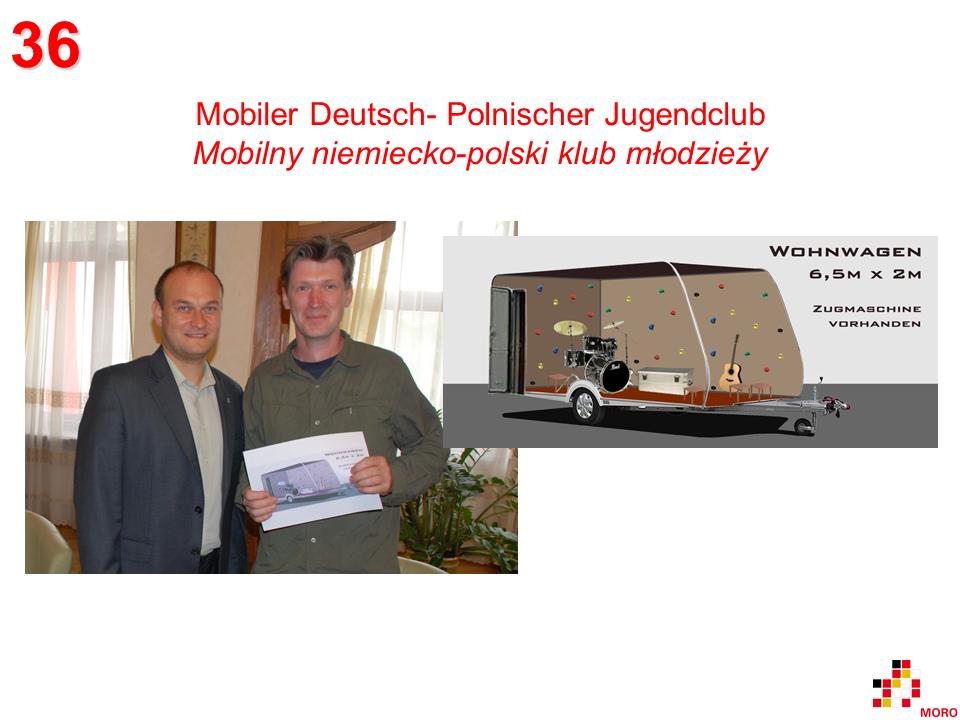 Mobiler Deutsch- Polnischer Jugendclub / Mobilny niemecko-polski klub młodzieży