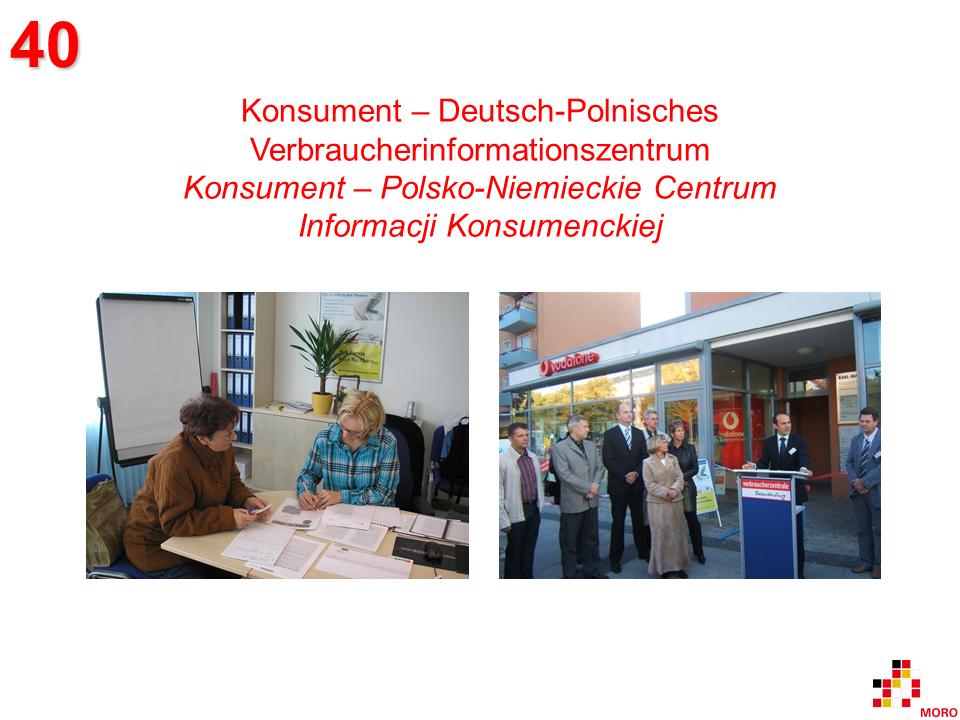 Konsument – Verbraucherinformationszentrum / Centrum Informacji Konsumenckiej