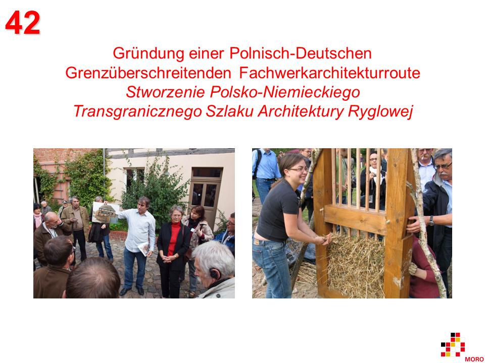 ANTIKON - Fachwerkarchitekturroute / Szlak Architektury Ryglowej