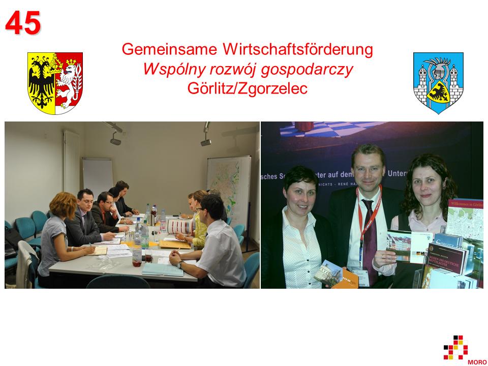 Gemeinsame Wirtschaftsförderung / Wspólny rozwój gospodarczy Görlitz/Zgorzelec