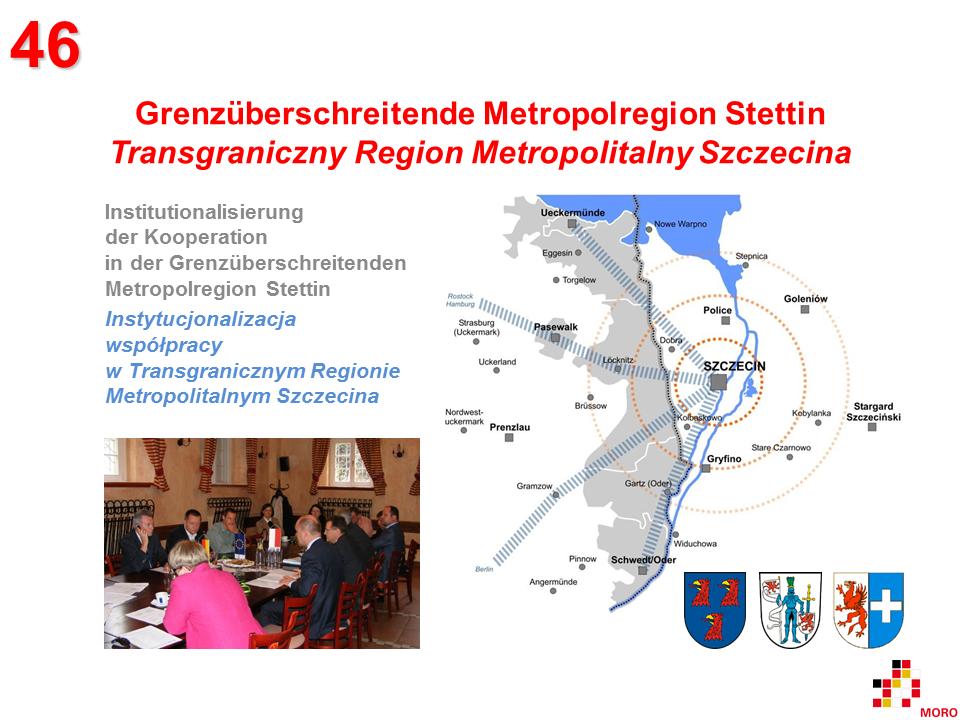 Metropolregion Szczecin / Metropolitalny region Szczecina