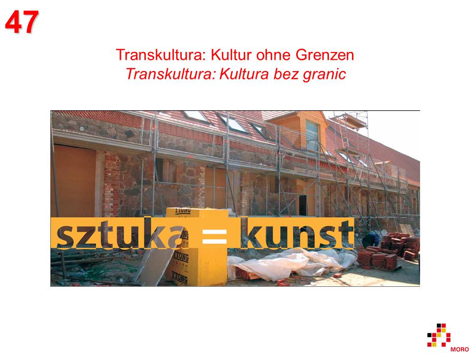 Transkultura – Kultur ohne Grenzen / Kultura bez granic