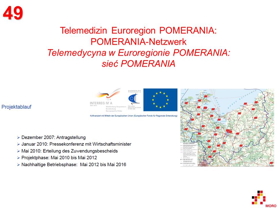 Telemedizin Euroregion POMERANIA / Telemedycyna w Euroregionie POMERANIA