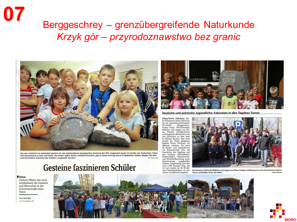 Berggeschrey – Naturkunde ohne Grenzen / Krzyk gór – przyrodoznawstwo bez granic