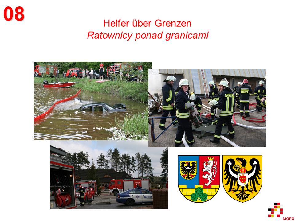 Helfer über Grenzen / Ratownicy ponad granicami