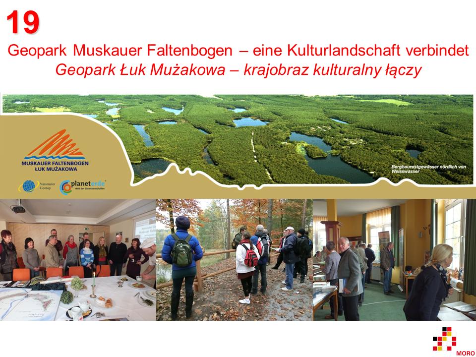 Geopark Muskauer Faltenbogen / Łuk Mużakowa
