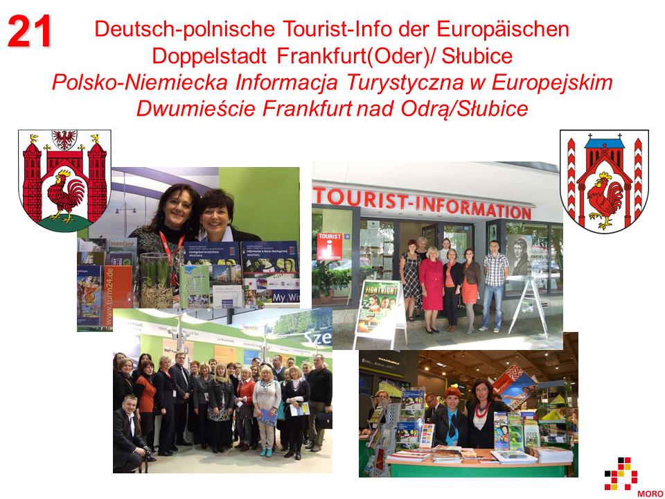 Tourist-Info der Doppelstadt / Informacja Turystyczna w Dwumieście Frankfurt(Oder)/Słubice