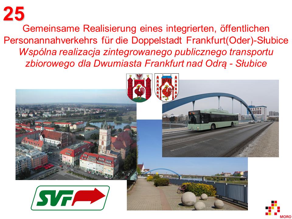 Öffentlicher Personennahverkehr / Publiczny transport zbiorowy Frankfurt (Oder) – Słubice