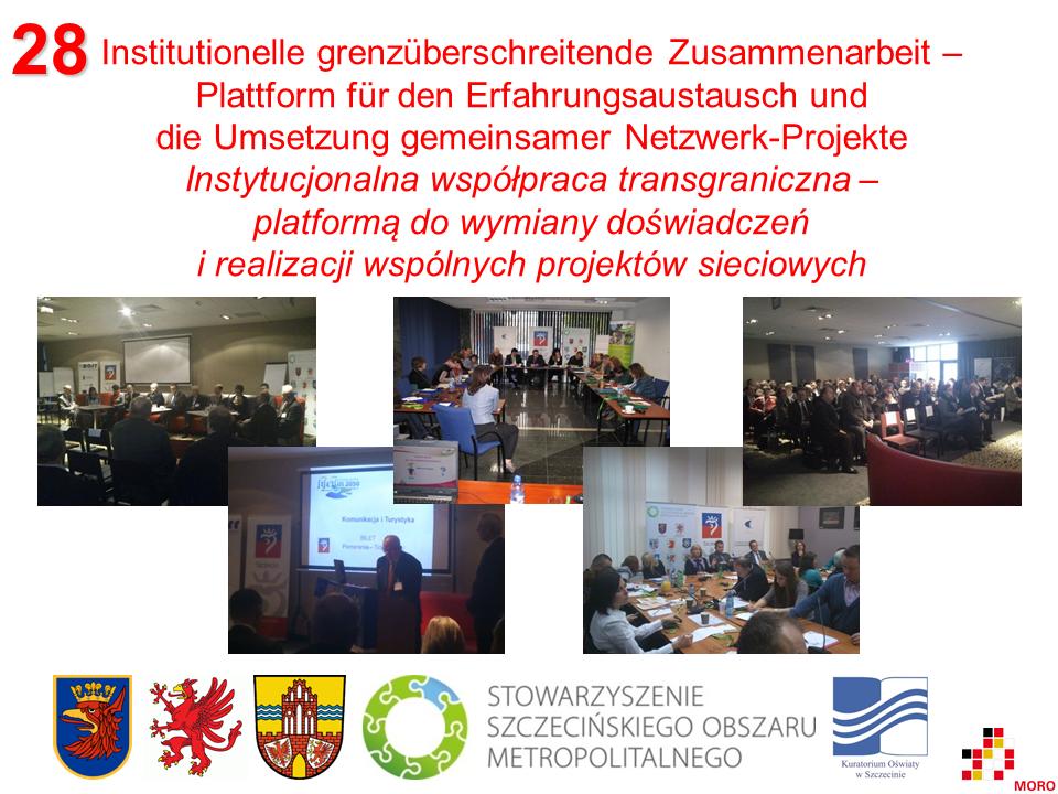 Institutionelle grenzüberschreitende Zusammenarbeit / Instytucjonalna współpraca transgraniczna