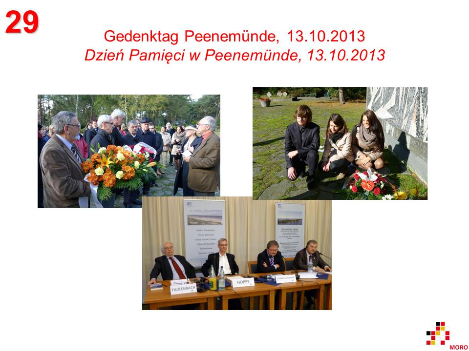 Gedenktag / Dzień Pamięci – Peenemünde