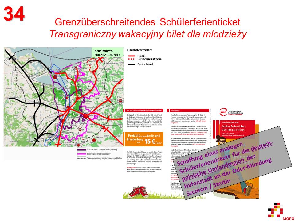 Grenzüberschreitendes Schülerferienticket / Transgraniczny wakacyjny bilet dla mlodzieży 2
