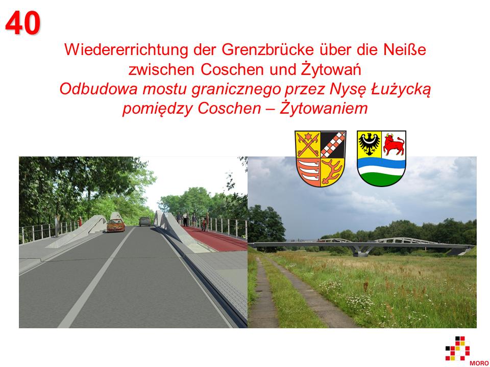 Brücke / Most Coschen-Żytowań 2
