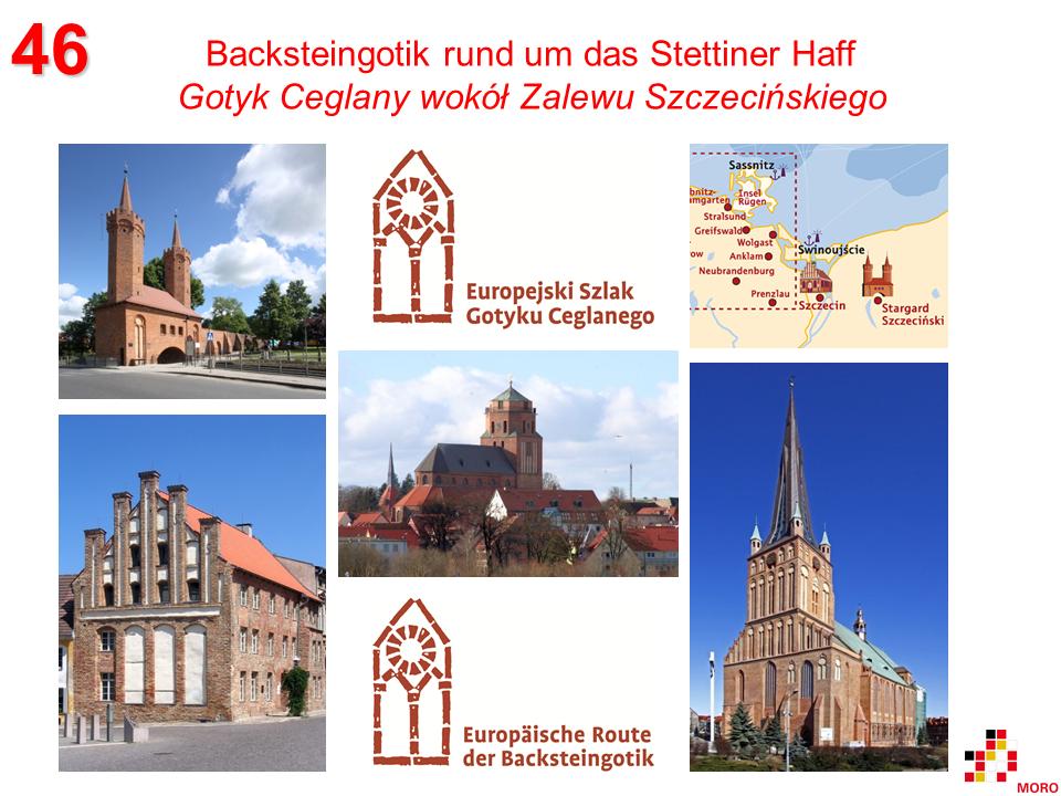 Backsteingotik rund um das Stettiner Haff / Gotyk ceglany wokół Zalewu Szczecińskiego