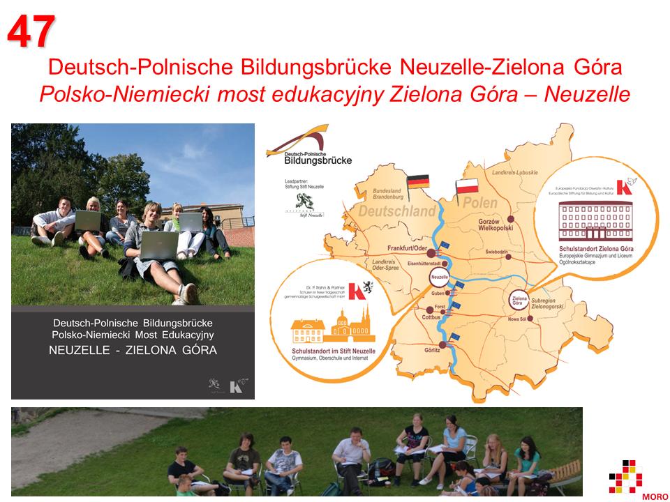Deutsch-Polnische Bildungsbrücke / Polsko-Niemiecki most edukacyjny Neuzelle – Zielona Góra