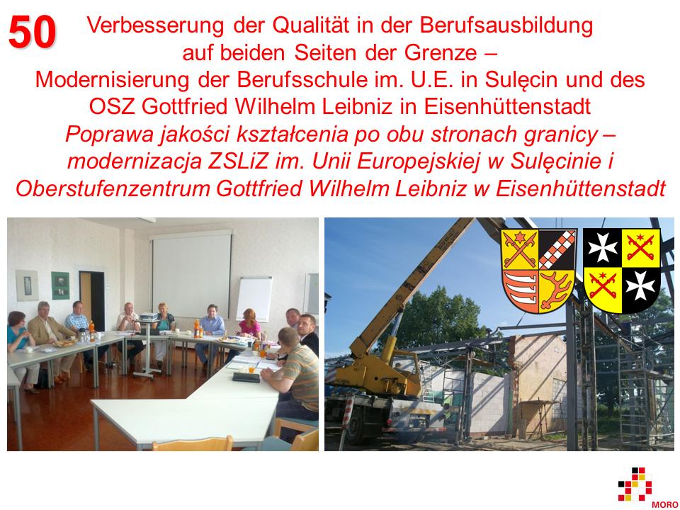 Verbesserung der Qualität in der Berufsausbildung / Poprawa jakości kształcenia