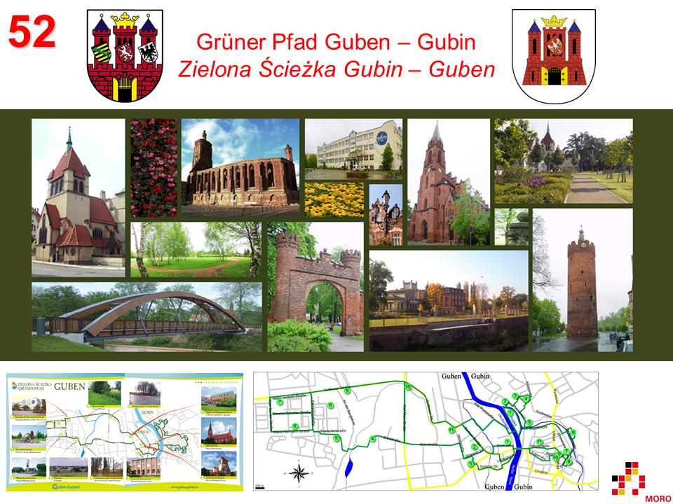 Grüner Pfad / Zielona Ścieżka Gubin – Guben