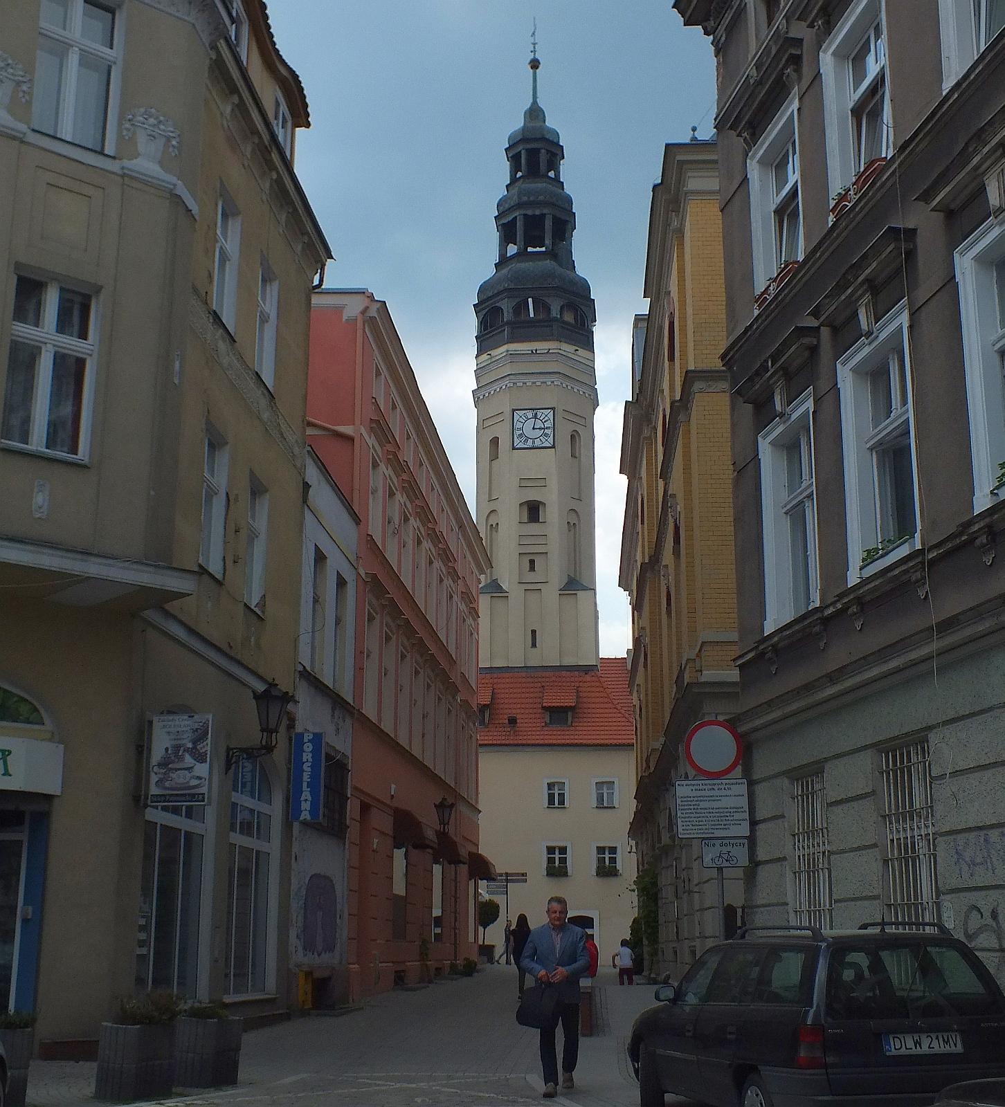 Zielona Góra, Altstadt