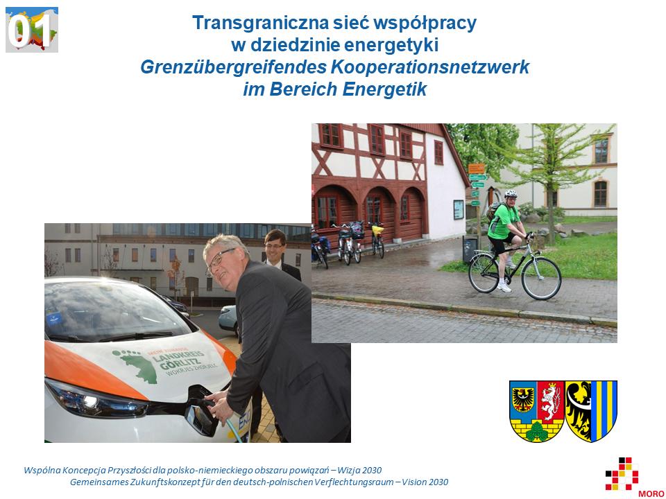 Transgraniczna sieć współpracy w dziedzinie energetyki / Grenzübergreifendes Kooperationsnetzwerk im Bereich Energetik
