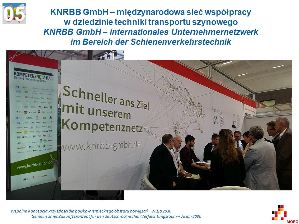 KNRBB GmbH – międzynarodowa sieć współpracy w dziedzinie techniki transportu szynowego / KNRBB GmbH – internationales Unternehmernetzwerk im Bereich der Schienenverkehrstechnik