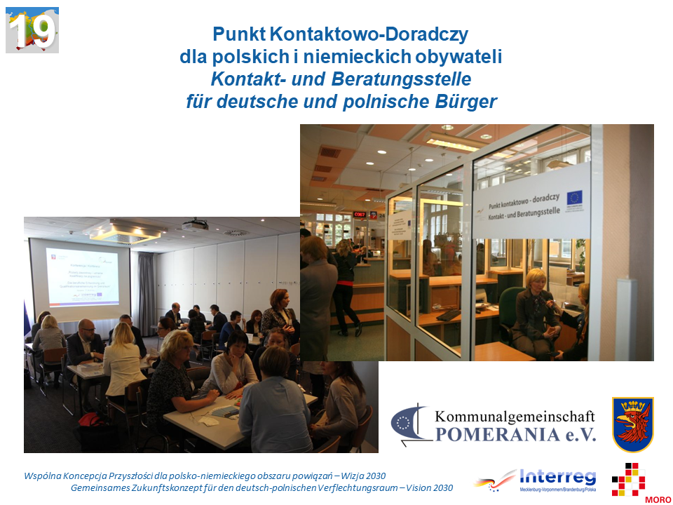 Kontakt- und Beratungsstelle für deutsche und polnische Bürger