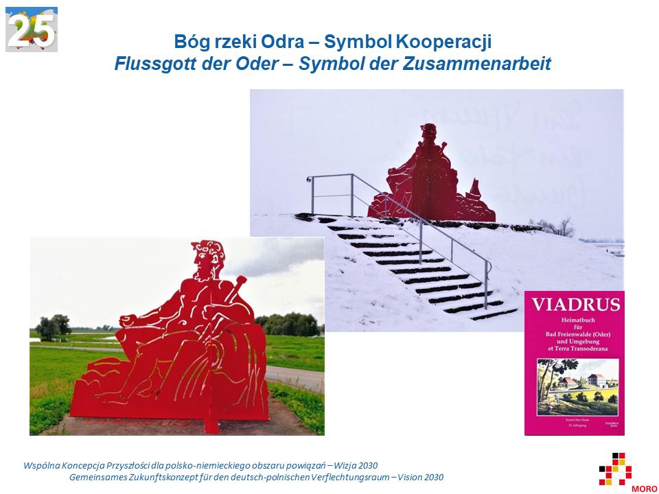 VIADRUS:Bóg rzeki Odra – Symbol kooperacji / Flussgott der Oder – Symbol der Zusammenarbeit