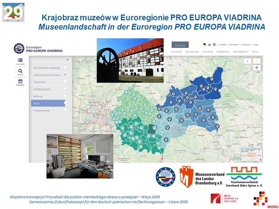 Krajobraz muzeów w Euroregionie PRO EUROPA VIADRINA / Museenlandschaft in der Euroregion PRO EUROPA VIADRINA