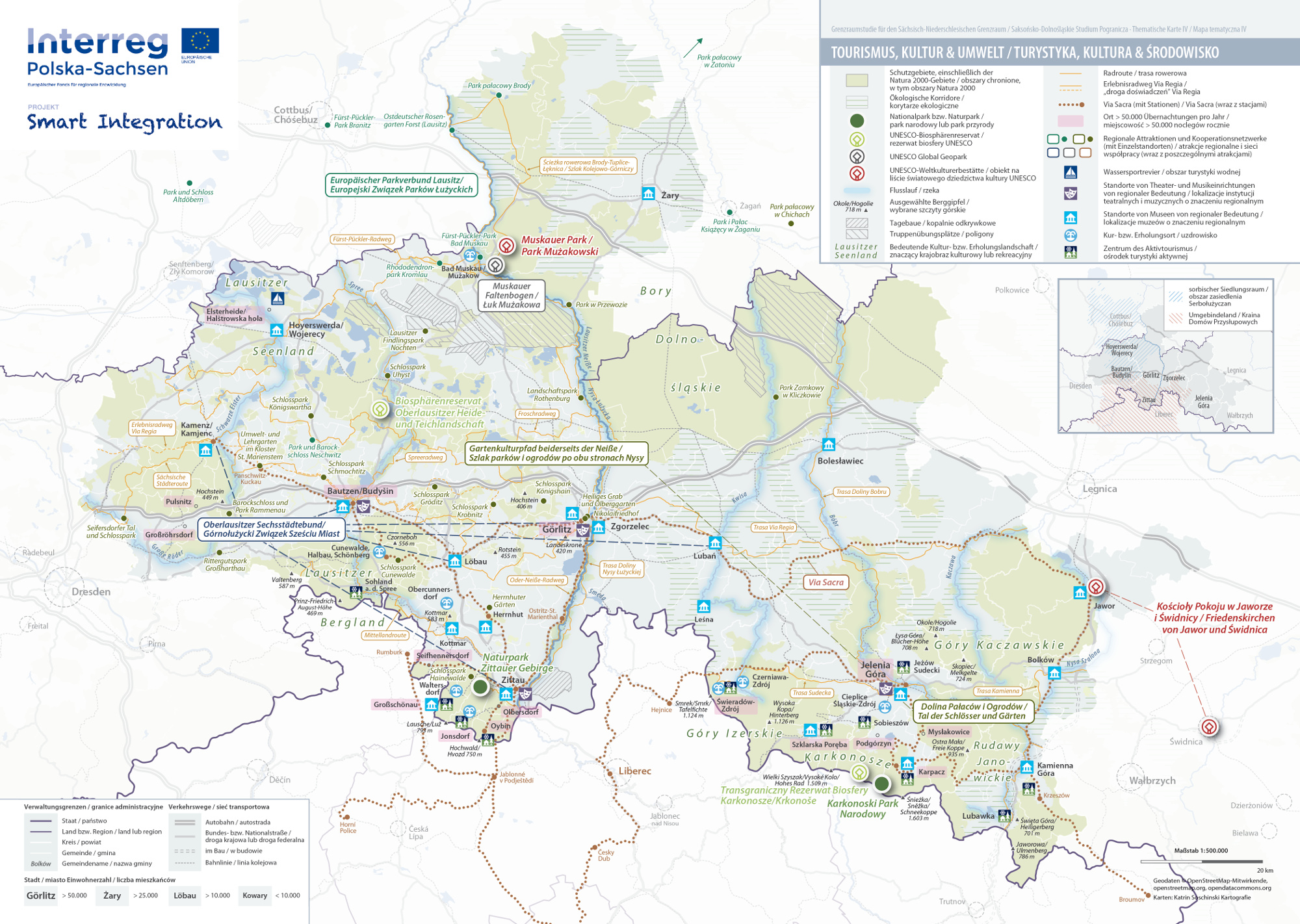IV Tourismus, Kultur & Umwelt / Turystyka, kultura & środowisko