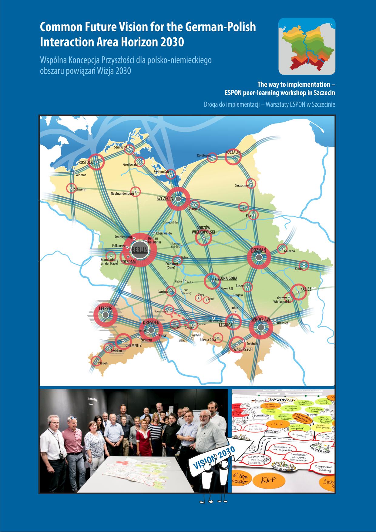 Broschüre: ESPON peer-learning workshop in Szczecin