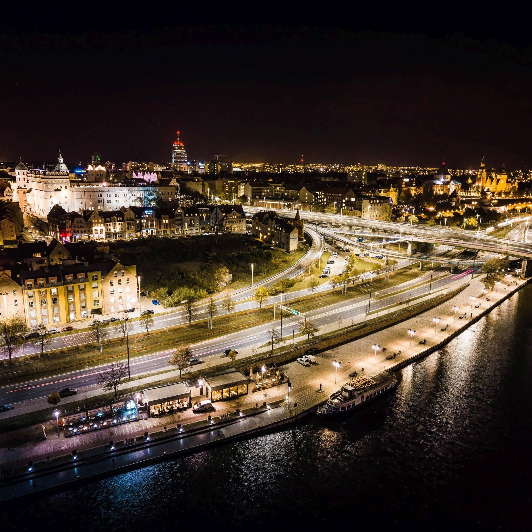 Szczecin / Stettin: Panorama. Fot. Tomasz Furmańczyk (RBGPWZ)