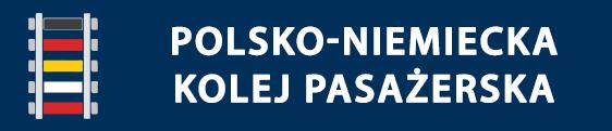 Logo Initiative deutsch-polnischer Schienenpersonenverkehr / Inicjatywa polsko-niemieckiej kolei pasazerskiej (KolejDEPL)