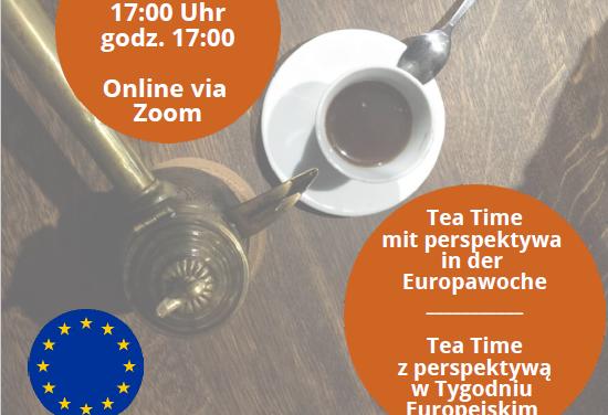 """""""Tea Time"""" w wirtualnej polsko-niemieckiej kawiarni"""