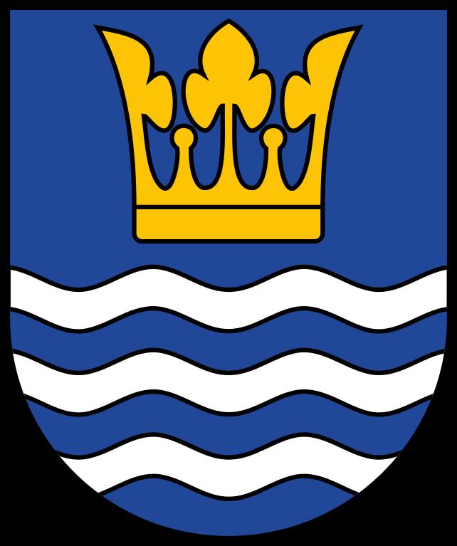 Wappen der Gemeinde Ostseebad Heringsdorf, Quelle: Wikimedia Commons, https://commons.wikimedia.org/wiki/File:Wappen_Ostseebad_Heringsdorf.svg