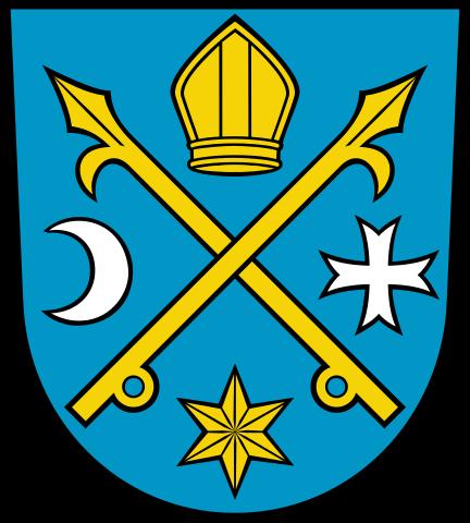 Wappen der Stadt Seelow, Quelle: Wikimedia Commons, https://commons.wikimedia.org/wiki/File:DEU_Seelow_COA.svg